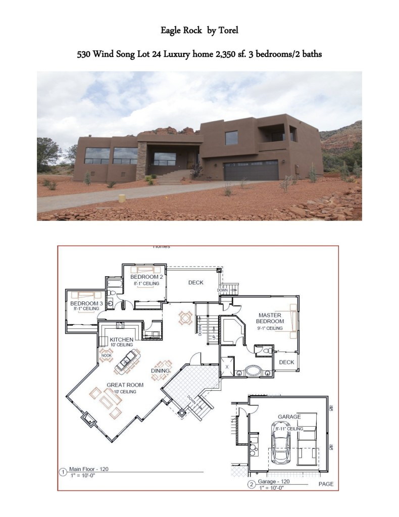 Torel Custom Homes 530 Windsong Sedona