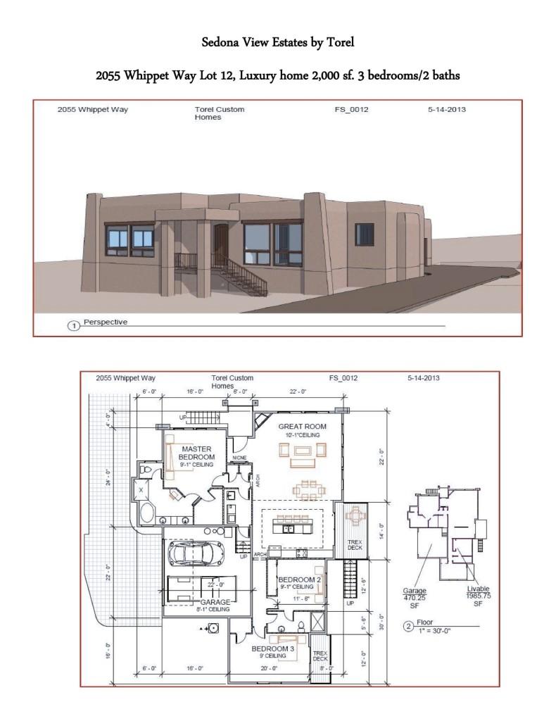 Torel Custom Homes 2055 Whippet Way Sedona