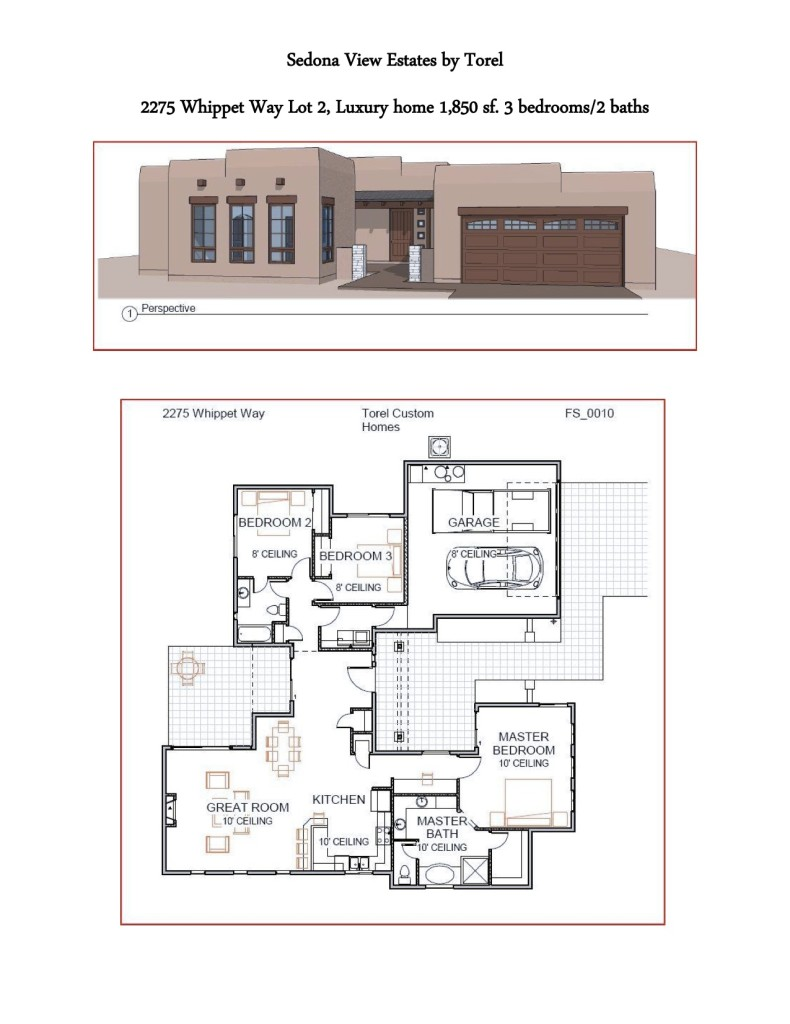 Torel Custom Homes 2275 Whippet Way Sedona